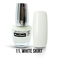 011 - White Skirt