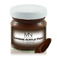 Supreme Acrylic Paint - no.11. Marrone - 40ml