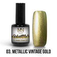 03 - Metallic Vintage Gold