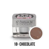3D Plasticine Gel - 18 - Chocolate