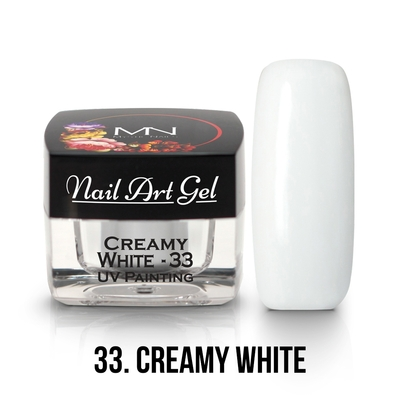 001 - 33 Creamy White
