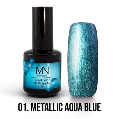 01 - Metallic Aqua Blue