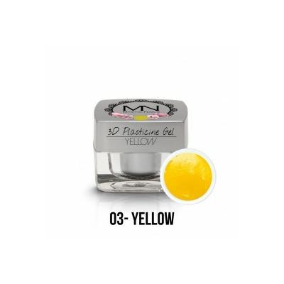 3D Plasticine Gel - 03 Jaune
