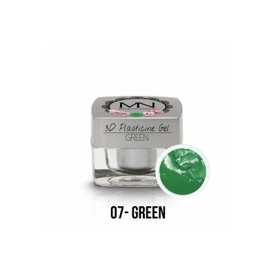 3D Plasticine Gel - 07 - Green