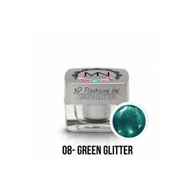 3D Plasticine Gel - 08 - Green Glitter