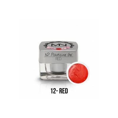 3D Plasticine Gel - 12 - Red