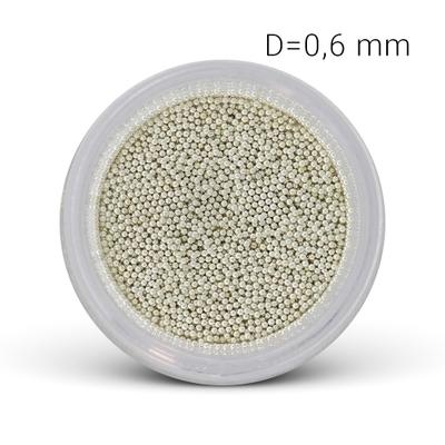 Micro Billes Argent 0.6 mm