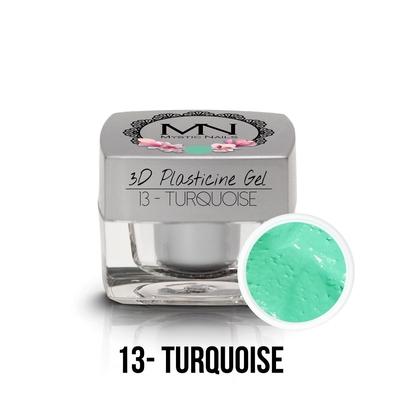 3D Plasticine Gel - 13 - Turquoise