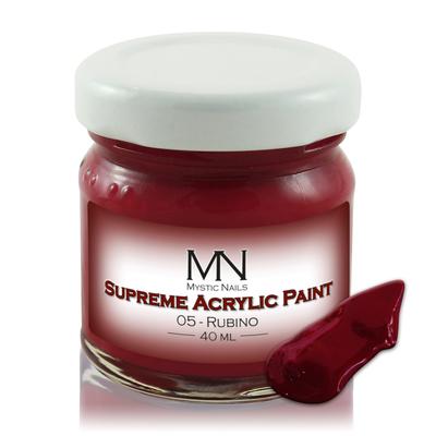 Supreme Acrylic Paint - no.05. Rubino - 40ml
