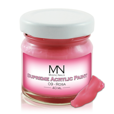 Supreme Acrylic Paint - no.09. Rosa - 40ml