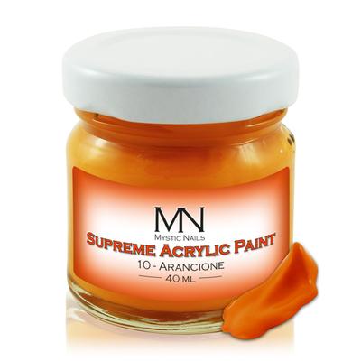 Supreme Acrylic Paint - no.10. Arancione - 40ml