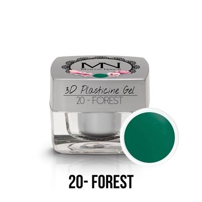 3D Plasticine Gel - 20 - Forest