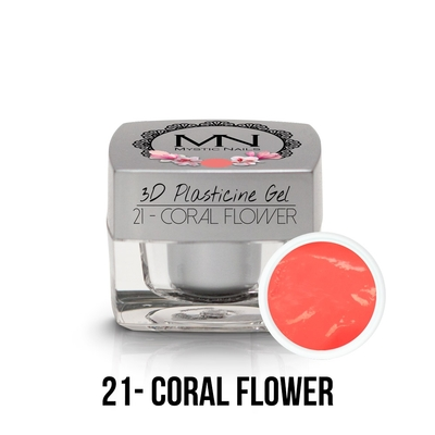 3D Plasticine Gel - 21 - Coral Flower
