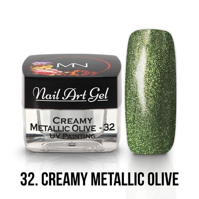 32 - Metallic Olive