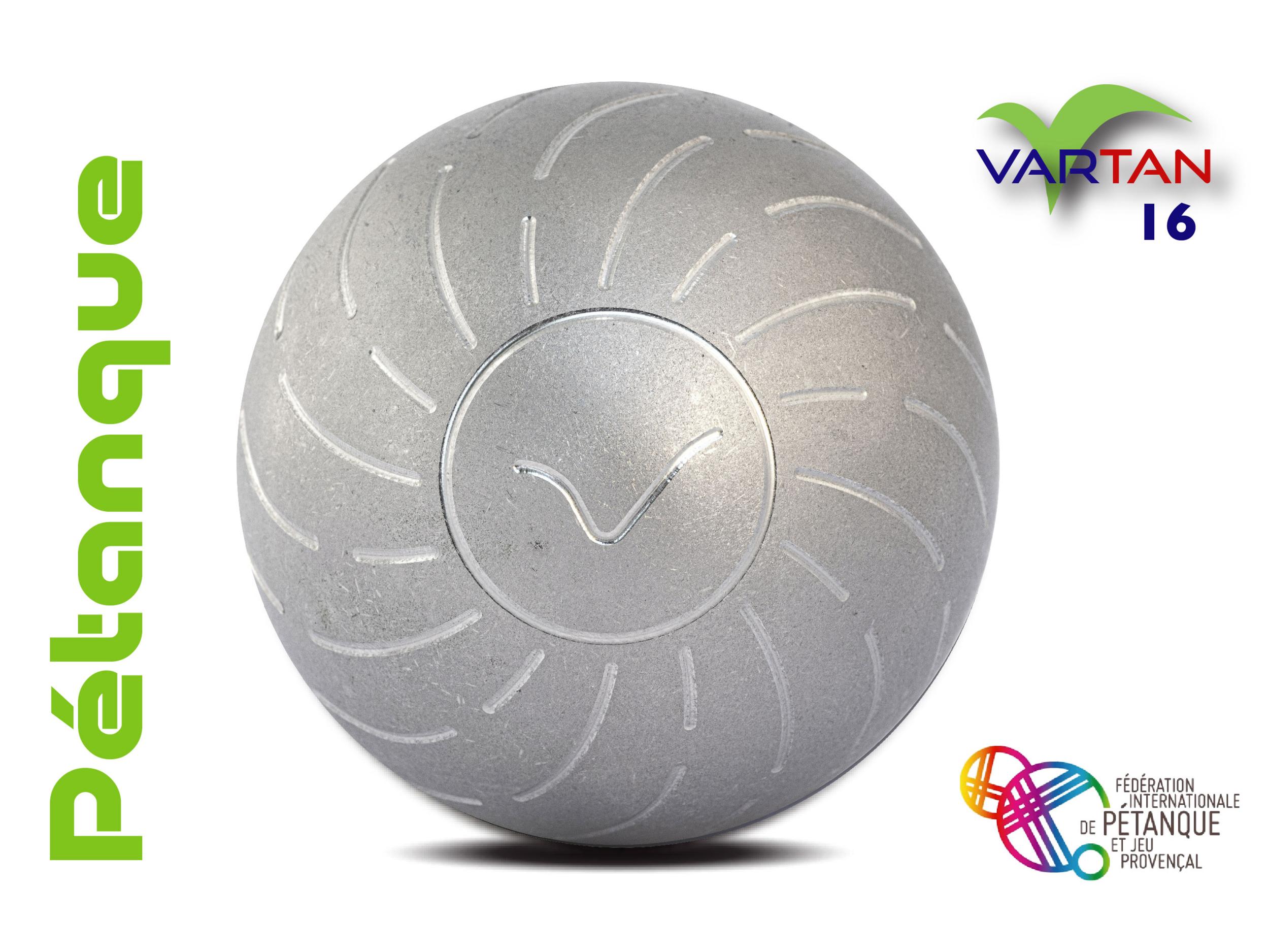 VARTAN INOX POUR MAIN DROITE 16 STRIES 1/2 TENDRE