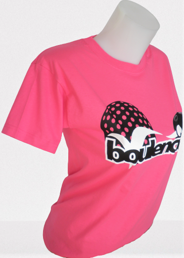T-SHIRT COTON ROSE MIXTE