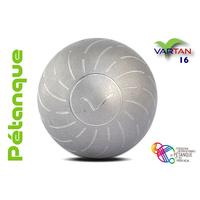 VARTAN INOX POUR MAIN GAUCHE 16 STRIES 1/2 TENDRE