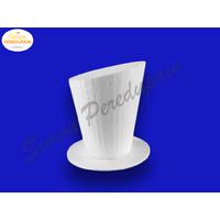 Chapeau en polystyrène