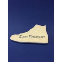 Chaussure en polystyrène de 15 cm de long