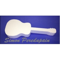 Guitare en polystyrène de 4 cm d'épaisseur