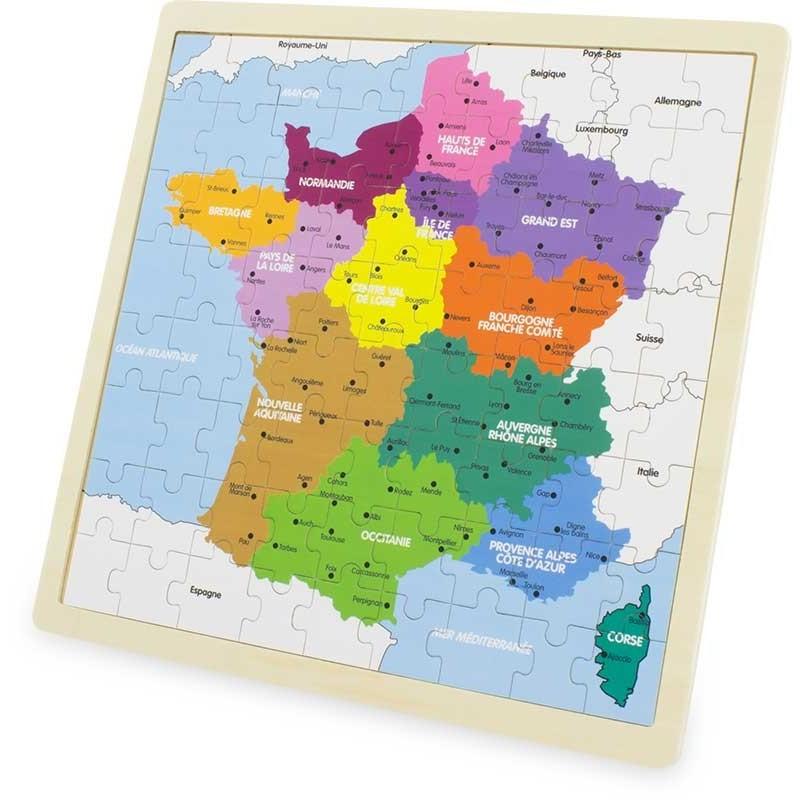 Puzzle france ( 72 pcs )