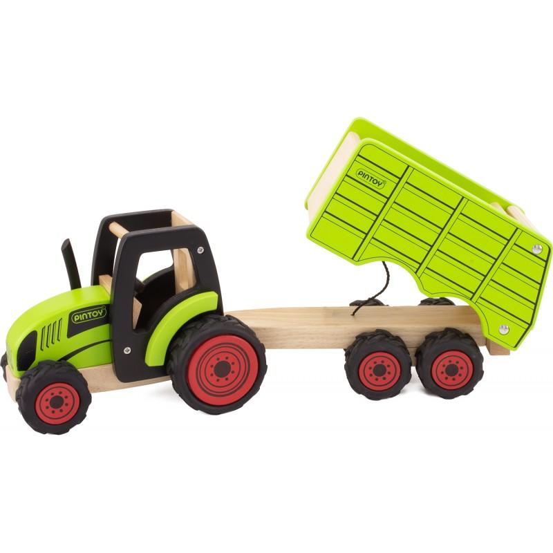 Tracteur & remorque - pintoy