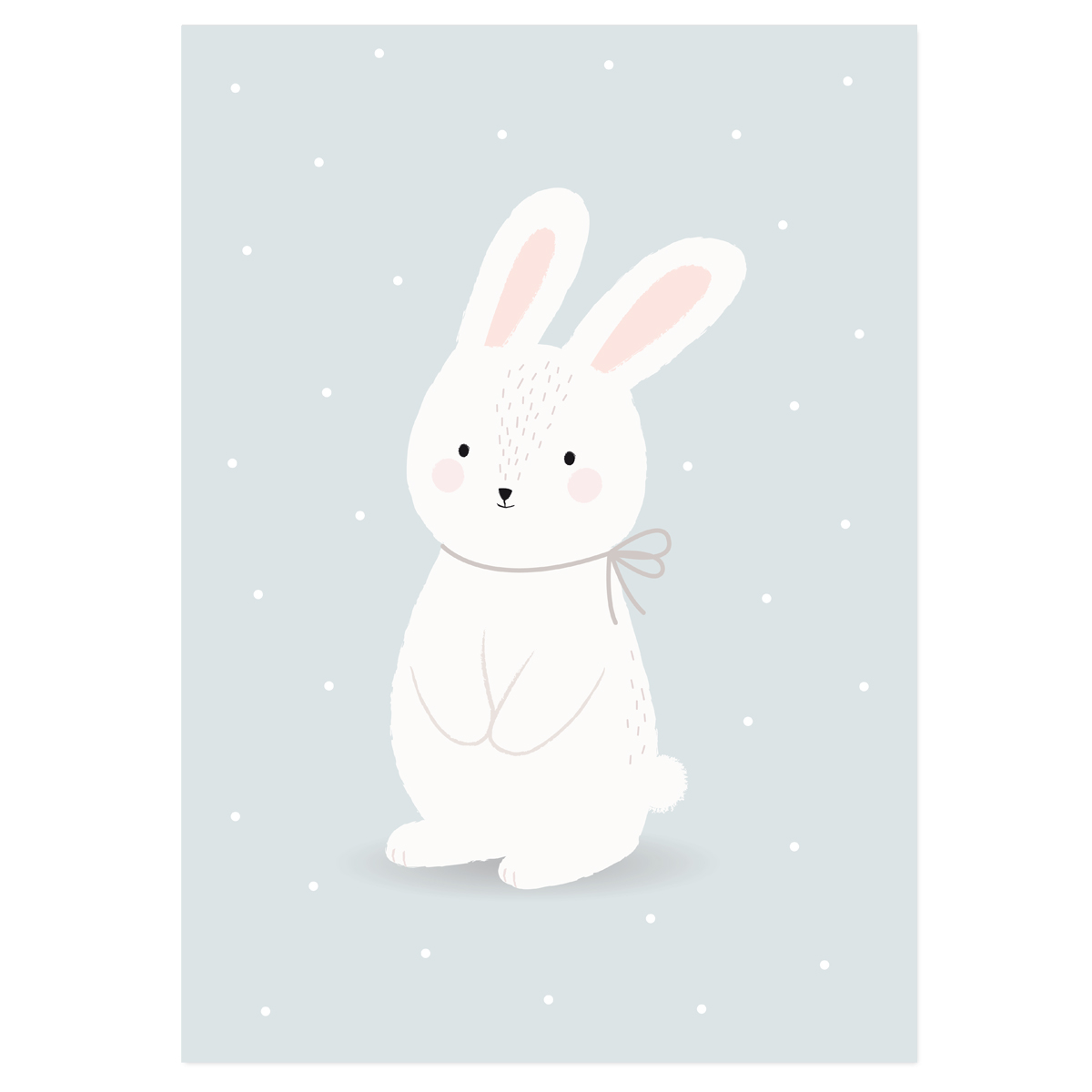 Affiche Lapin Be Kind - Zü