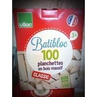 Batiblocs calssic, 100 planchettes