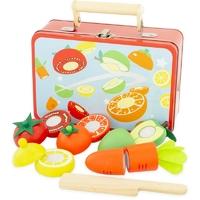 Mallette : fruits et légumes à découper