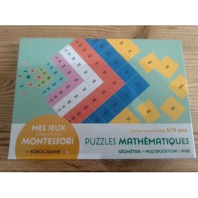 Jeux Montessori - Puzzles mathématique