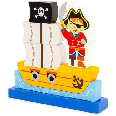 Puzzle magnet : les Pirates