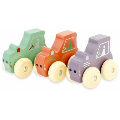 P'tit véhicules : tracteur (lot de 3)