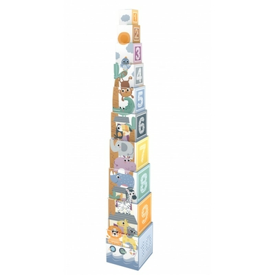 Cubes gigognes : animaux de la forets (10pcs)