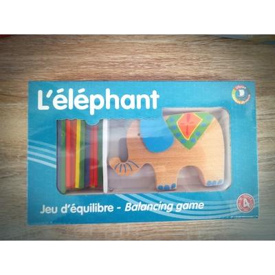 Jeu d'équilibre : l'éléphant