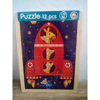 Puzzle fusée