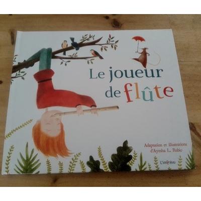 """Livre jeunesse """" Le joueur de flûte"""""""