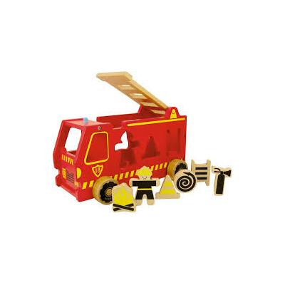 Camion à formes : Pompier