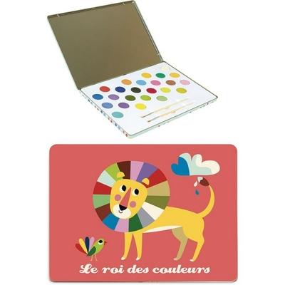 Boite de peinture Roi des couleurs Vilac