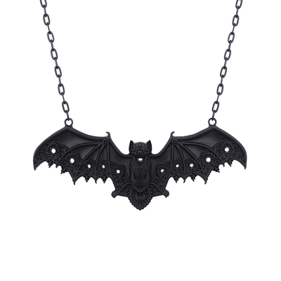 Lace Bat pendant