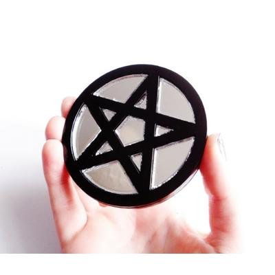 Pentagram Compact Mirror