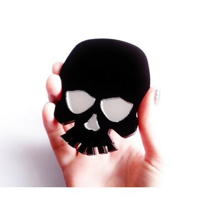 Skull Compact Mirror