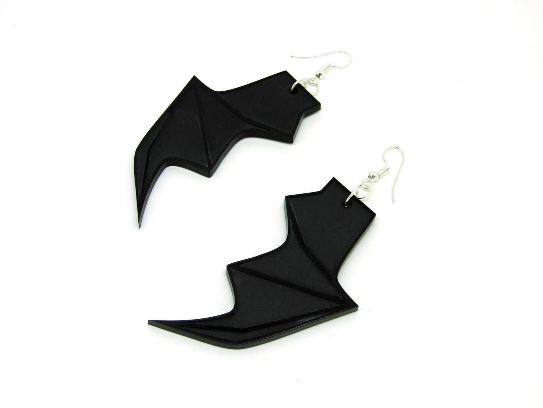 Bat-Wing-Earrings-Left