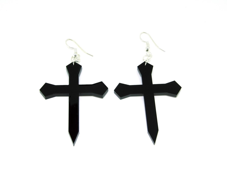 Cross-Earrings