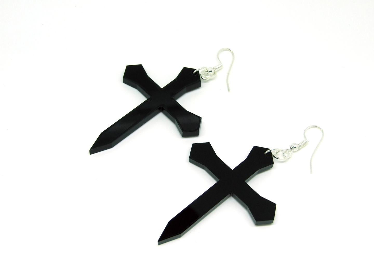Cross-Earrings-Left