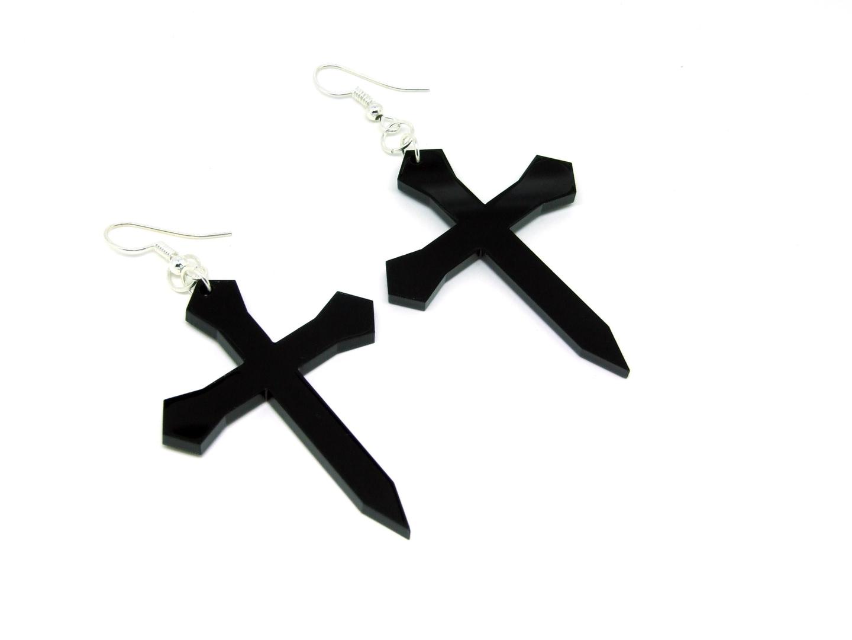 Cross-Earrings-Right