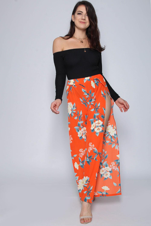 Pantalon Floral Miss Clothing