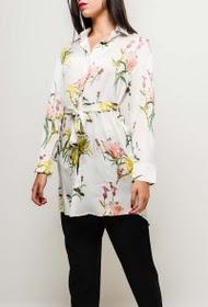sophyline-chemise-longue-fleurie-avec-ceinture-white-2