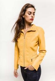 jaune-rouge-veste-en-similicuir-avec-zip-et-poches2-yellow-3