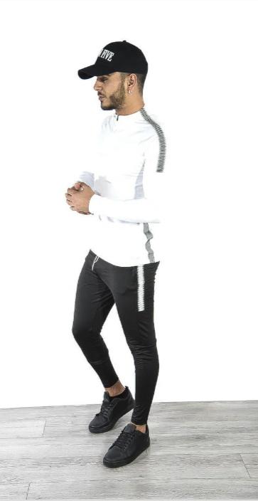 Ensemble Sport TX 180 Noir et Blanc