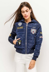 bomber avec patches